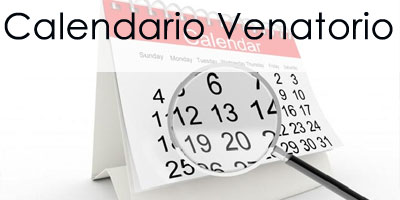 Calendario Venatorio