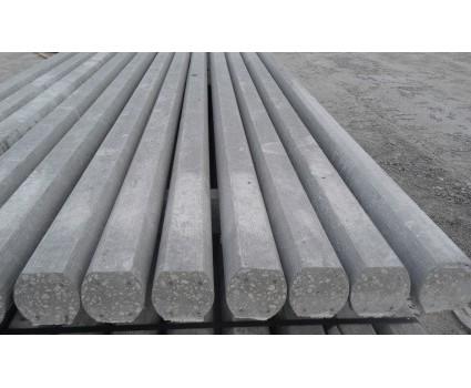 Palo in cemento  precompresso  90x90 con 4 o 6 trecce IL PALO PRECOMPRESSO CON SEZIONE90*90 PUO ESSERE REALIZZATO CON4 o6 TRECCE