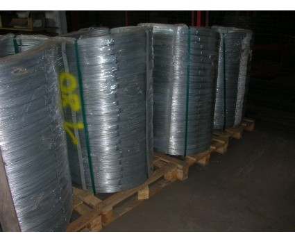 FILO ZINCO ALLUMINIO ALL 4,6 % Filo d'acciaio ad elevato contenuto di carbonio, con rivestimento costituito da una lega di zinco (95%) ed alluminio (5%)