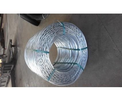 FILO TRIPLA  ZINCATURA fili zincati, utilizzati più comunemente nella versione a tripla zincatura presentano un elevato allungamento ed uno scarso carico di rottura
