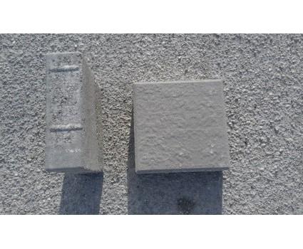 Sottopalo in cemento 18x18x6